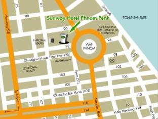 Sunway Hotel Phnom Penh Phnom Penh - Map
