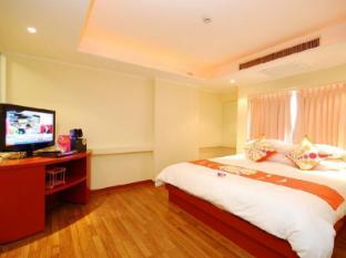 曼谷海普飯店 曼谷 - 客房