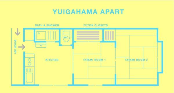 Yuigahama Apart Yuibakehama ap Kamakura