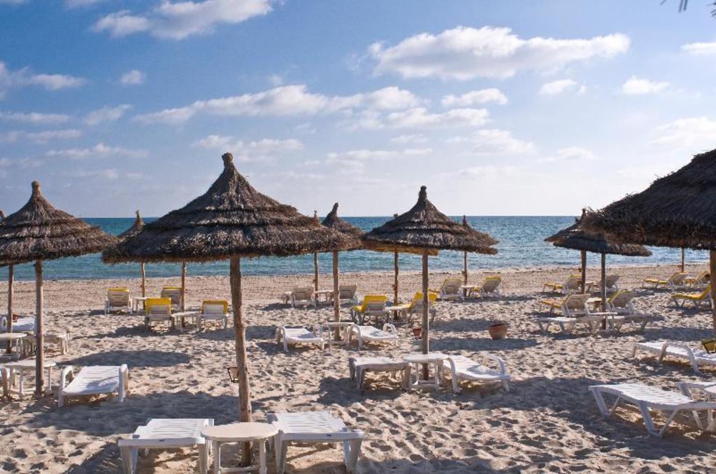 尤里斯巴丽笙公园度假海水浴酒店沙滩